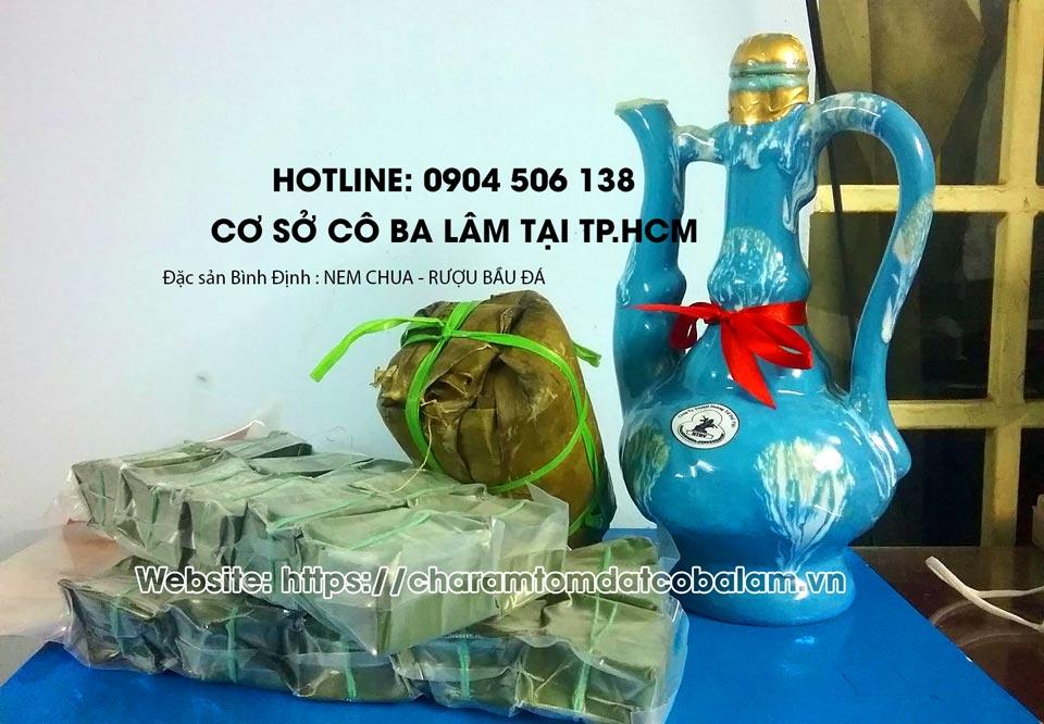 Nem chua chợ huyện Tuy Phước Bình Định